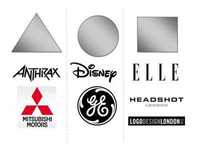 oblici u logo dizajnu