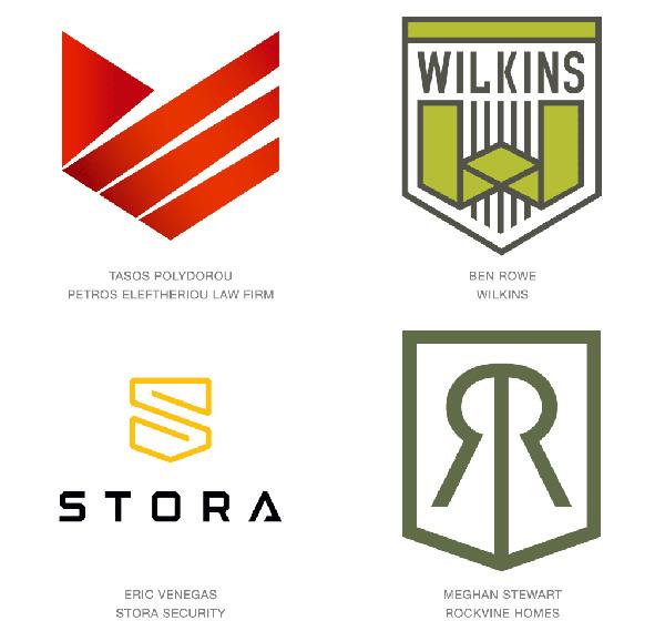 Dizajn-modernih-logotipa-u obliku stita