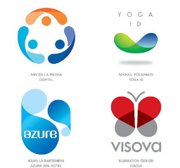 Dizajn-modernih-zakrivljenih-logotipa